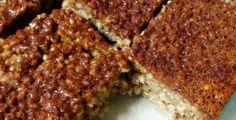 21 Day Fix: Cinnamon Quinoa Bars