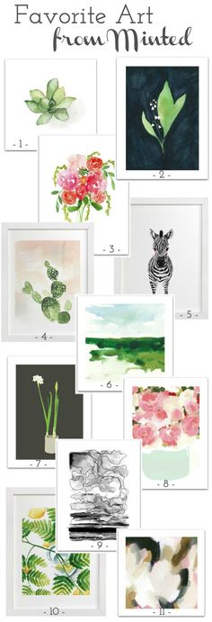 Beautiful art prints (love that you can get them signed by the artist for free!) and they don't break the bank!