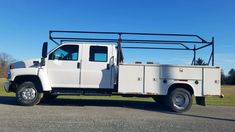 2004 Chevy 4500 Crew Cab Diesel Utility Truck. 6.6L Duramax Diesel engine, Allison automatic transmission, air conditioning. Truck has an 11 ft Dejana utility body with ladder racks, tow package, 19.5 tires, 17,500 GVW, 238K miles. $8,000.00 410-292-4646