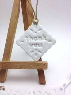 Thank You Favor Thank You Tags Wedding by JosCreationsGR on Etsy #thankyoufavor #thankyoutag #thankyou #weddingfavor #weddingdecor #weddingdecoration #napkinring #thankyoufavour #babyshowergift #baptismfavor #claytag #wishtag #JosCreationsGR