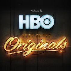 Hbo Home Of The Originals By Patrick Tan Via Behance