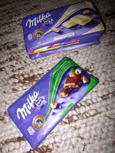 Täschchen aus Schokoladenverpackung