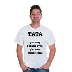 Koszulka męska z nadrukiem Dzień Taty 7
