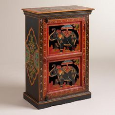 One of my favorite discoveries at WorldMarket.com: Elephant Cabinet