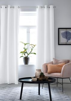 Grand Designs, Marimekko, Simple Living, Family Room, Accent Chairs, Curtains, Interior, Furniture, Home Decor