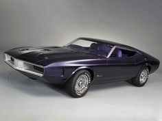 1970 Mustang Milano concept