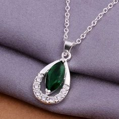 New silver plated pendant necklace Fashion Crytal choker joias