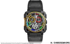 Baselworld: Bell & Ross with New Renault Sport F1 RS17 Chronographs - Choice Gear