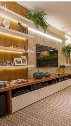 Here are the Chic Living Room Wall Decor Ideas. This post about Chic Living Room Wall Decor Ideas was posted Living Room Tv Unit, Chic Living Room, New Living Room, Living Room Modern, Living Room Designs, Tv Wall Ideas Living Room, Tv Wall Furniture, Furniture Logo, Rustic Furniture