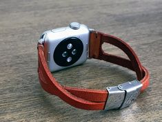 The Iris Infinity Leather Apple Watch Band 38mm or 42mm