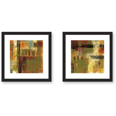 Gallery Direct Benjamin Deal 'Juxtapose' 2-piece Framed Art Set
