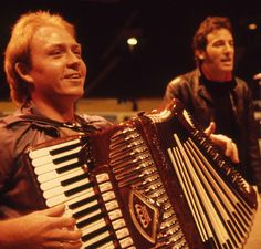 """everybodyformaline: """" Danny Federici: January 23, 1950 - April 17, 2008 I always thought Danny had the best smile of anyone in the E Street Band. It could light up a room and it clearly lit up many..."""