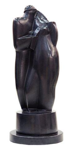 Kiss - Bronze - Victor Brecheret