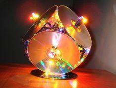 Что можно сделать из дисков своими руками (поделки из cd и dvd) - строительство