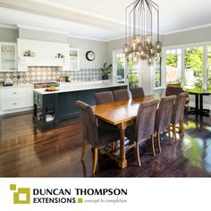 Another Completed Kitchen And Dining Room Extension With Excellent Results We Just Cant