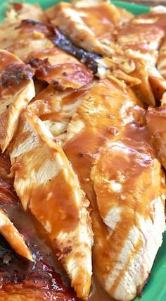 Apple Cider Glazed Turkey Breast-