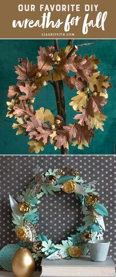 See our BEST Fall DIY wreaths!!