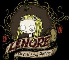 cute little dead girl | lenore the cute little dead girl | La caca de chango