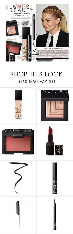 """Sophisticated Look"" by thewondersoffashion ❤ liked on Polyvore featuring beauty, NARS Cosmetics, GHD, jennifermorrison and NARS"