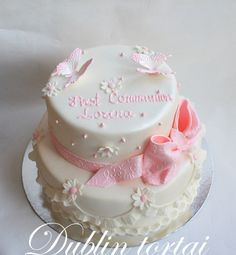 First Communion Cakes