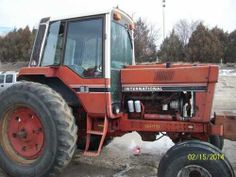 International 1086 tractor. Salvaged for used parts. All States Ag Parts 877-530-4430. http://www.TractorPartsASAP.com
