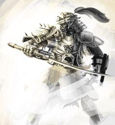 Samurai work in progress 2 by julian2105