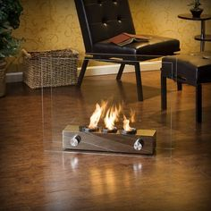 Portable Gel Fireplace