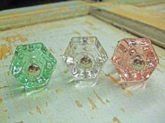 Hey, I found this really awesome Etsy listing at http://www.etsy.com/listing/97491458/shabby-chic-glass-knobs