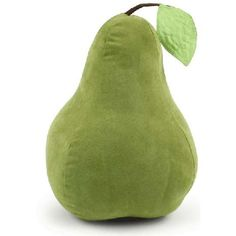 Pear Shaped Throw Pillow