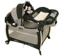 Graco Silhouette Pack 'N Play Playard with Bassinet and Changer, Rittenhouse by Graco Baby, http://www.amazon.com/dp/B000MXL04U/ref=cm_sw_r_pi_dp_eBnvqb1WENBS1