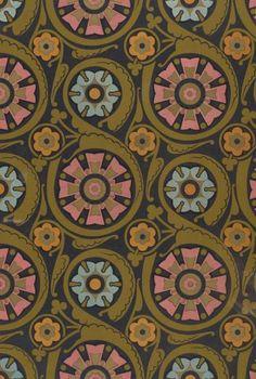 Illustration: Design work by Christopher Dresser 1876.  (via: The Textile Blog)