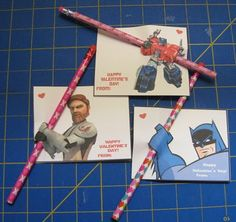 More Awesome Boy Valentine Ideas.