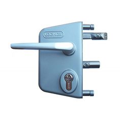 Easy to adjustment & changing of the self-latching bolt is available online choice your color Gate Locks, Iron Doors, Gates, Door Handles, Tube, Industrial, Modern, Silver, Outdoor