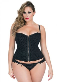 493cf1b2a3 Flaunt your curves in this sexy fashion corset by Oh La La Cheri. Featuring  a