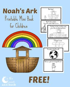 The biblical account of Noah can be taught in a variety of ways. There are so many lessons to learn from this man of faith and the story of God's mercy through the ark that it's hard to narrow it down. I decided to create a printable mini book for young children to color and …