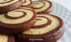 Galletas Espiral De Vainilla Y Chocolate