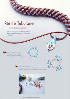 russian spiral #Seed #Bead #Tutorials by madeleine