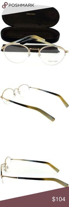 bd75a729dea TF5334-032 Tom Ford Eyeglasses NWT NWT. TF5334-032 Tom Ford Eyeglasses NWT  New gorgeous authentic Tom Ford TF5334-032 unisex gold frame 52mm clear Lens  ...