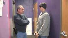 """SRT team leader """"James Brogan"""" confronts a thief in Lulu's Discount Store."""