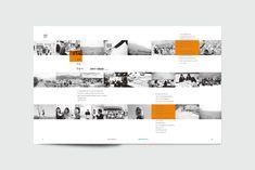 Web Design, Page Design, Layout Design, Yearbook Design Layout, Interior Design Presentation, Presentation Layout, Layout Inspiration, Graphic Design Inspiration, Timeline Design