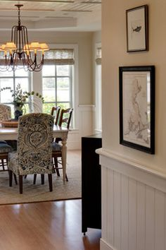 Cape Cod Home - traditional - dining room - boston - Chelle Design Group