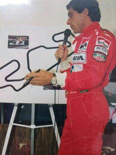 Ayrton Senna i el Circuit de Catalunya (Montmeló)