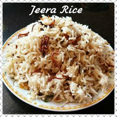 Chinu's Kitchen Corner: Jeera Rice