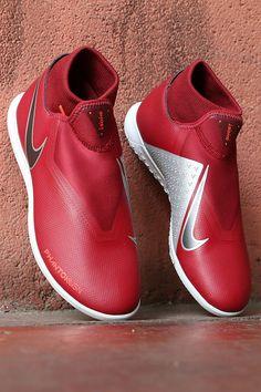 zapatillas de fitbol sala nike rojas