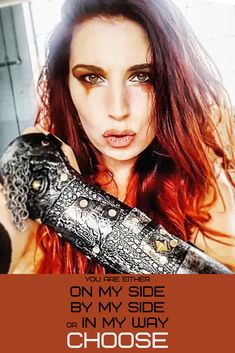 I never knew what I wanted to be when I grew up- except inspirational. My bucket list has one thing on it- be inspirational. Dystopian Fashion, Cyberpunk Fashion, Max Makeup, Warrior Fashion, Strong Female Characters, Badass Outfit, Intelligent Women, Historical Women, Badass Aesthetic