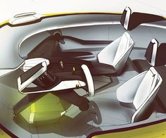 Peugeot Coupe Interior on Behance: