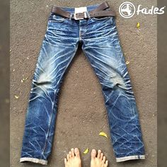Here we go with another #cultizmfades update! @anggieff from Indonesia sent us some pictures of his @oldblueco 19oz. This pair is 11 months old, had 7 soaks and 4 washes and wow - those are some sick fades! There is so much dedication to denim in Indonesia, we really appreciate it! Rocking 19oz in a the tropics is just crazy 😉👌 Thanks again Anggi!