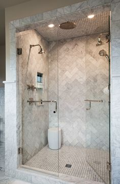 guest shower Love this shower, would see about leaving it open, no glass, shower glass is a pain to keep clean!