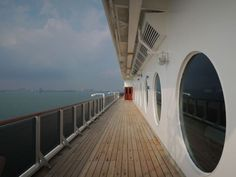 The morning sea view from the highest deck of Italian mega ship Costa Atlantica cruising the Strait of Malacca graced the cover of the fourth international edition of think archipelago magazine, November Costa Atlantica, High Deck, Strait Of Malacca, Archipelago, Tourism, Cruise, Landscape, Places, Nature