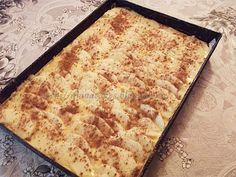 diana's cakes love: Prajitura cu iaurt si mere Pizza, Nutrition, Bread, Cheese, Food, Pie, Eten, Bakeries, Meals